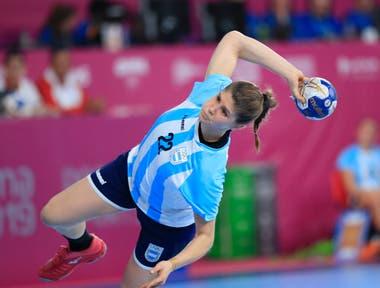 Elke Karsten jugadora del equipo argentino de handball