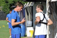 Racing: Luciano Aued y Federico Vismara, a disposición de Facundo Sava para el partido ante Tigre