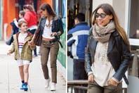 Pampita Ardohain pasea su sonrisa de enamorada por Buenos Aires