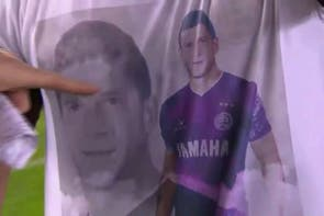 El homenaje a Diego Barisone, en un día muy especial