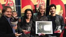 El Chino Darín fue reconocido en un Festival de cine en Madrid