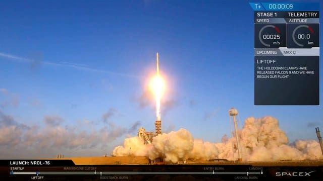 Misterio en el espacio: EE.UU. lanzó a la órbita terrestre un satélite espía