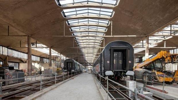 La estación fue construida a finales de los años 20 y declarada monumento histórico en 2012