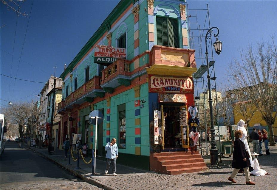 La callejuela de La Boca no inspiró el mítico poema foto: LA NACION Archivo