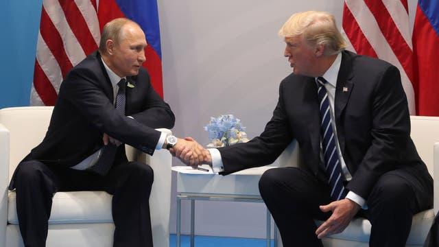 Putin dijo que hablaron de temas de interés internacional y bilateral