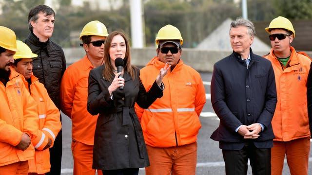 María Eugenia Vidal y su discurso durante la inauguración