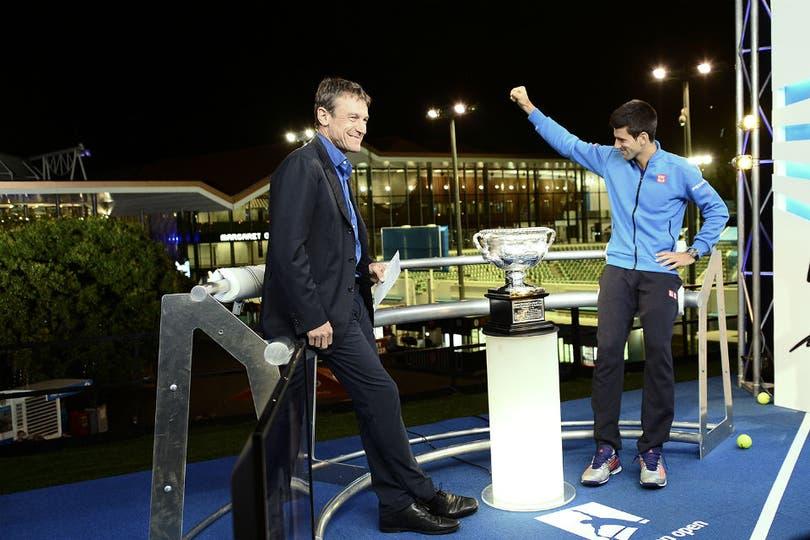 Novak Djokovic superó a Andy Murray y conquistó su quinta corona en Australia. Foto: Australian Open