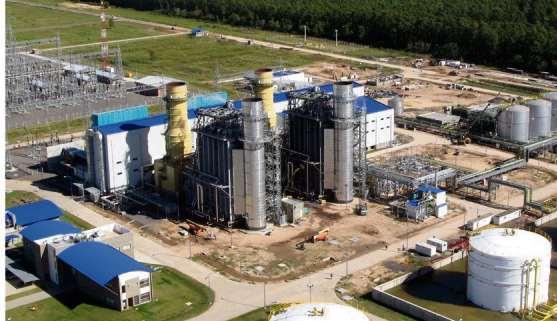 Una de las centrales térmicas que serán ampliadas