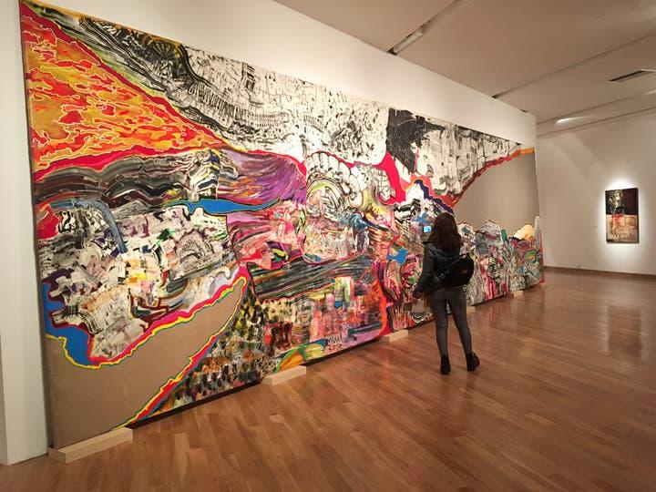 La estática velocidad, una de las obras con las que representó al país en la Bienal de Venecia de 2009