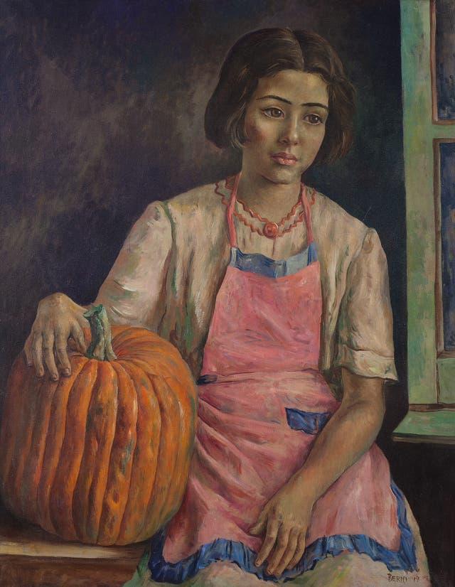 Niña con zapallo, Antonio Berni, 1947