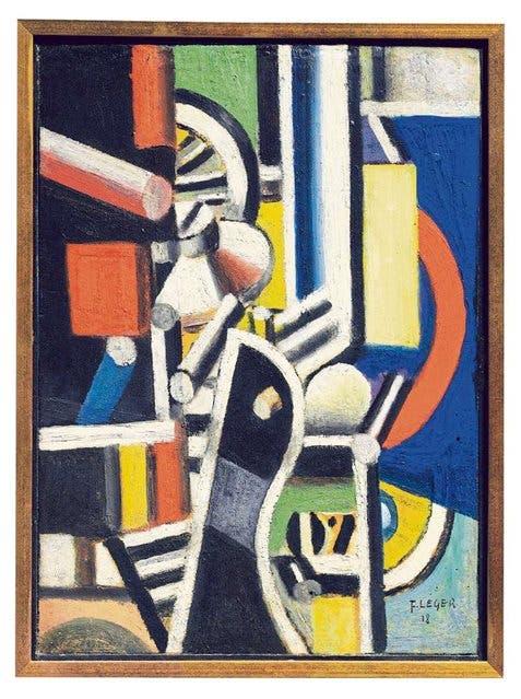 La fábrica (motivos para el motor) - Fernand Léger, 1918