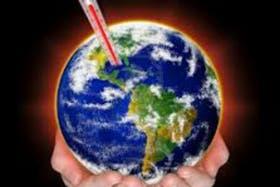 El calentamiento global de la Tierra se vio incrementado por la emisión de gases de efecto invernadero por el hombre