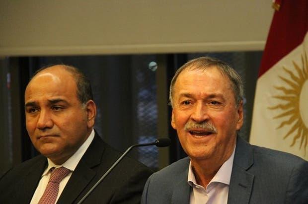 Manzur y Schiaretti en la reunión de ayer