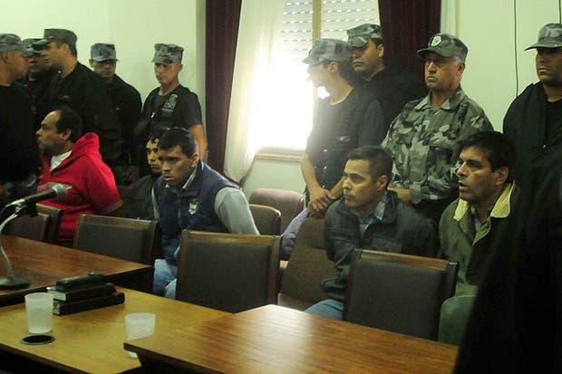 Los acusados, antes de conocer el veredicto