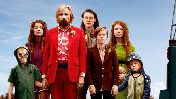 Viggo Mortensen y compañía en Capitán Fantástico de Matt Ross