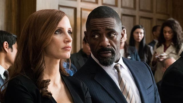 Jessica Chastain e Idris Elba protagonizan Apuesta maestra. (Foto: cortesía Entertainment One)