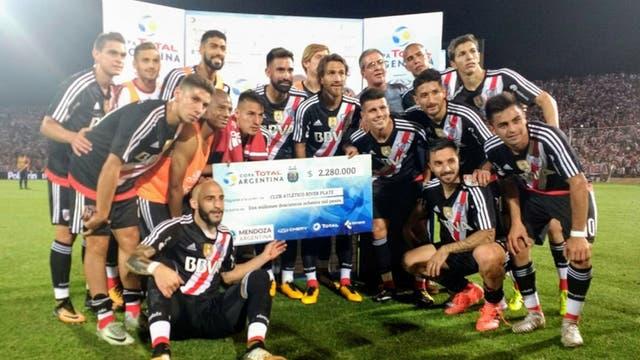 River, finalista de la Copa Argentina