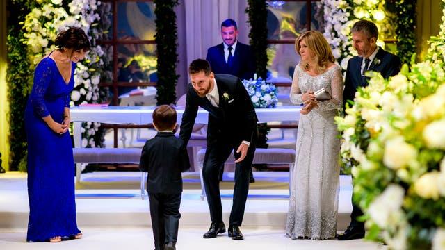 Las mejores imágenes del casamiento. Foto: Andrés Preumayr