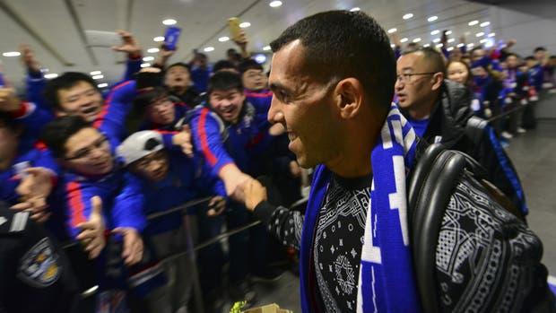 La pasión de los chinos por Tevez
