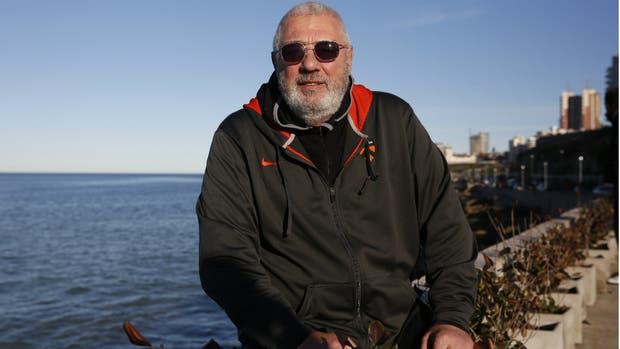 Nicolao está radicado en Mar del Plata desde hace más de 30 años