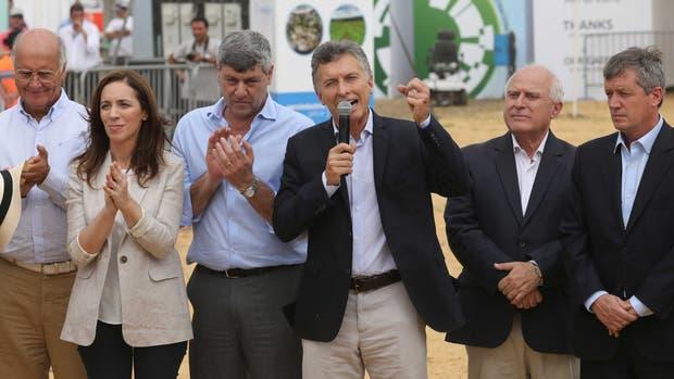 Macri ratificó su romance que la gente del campo