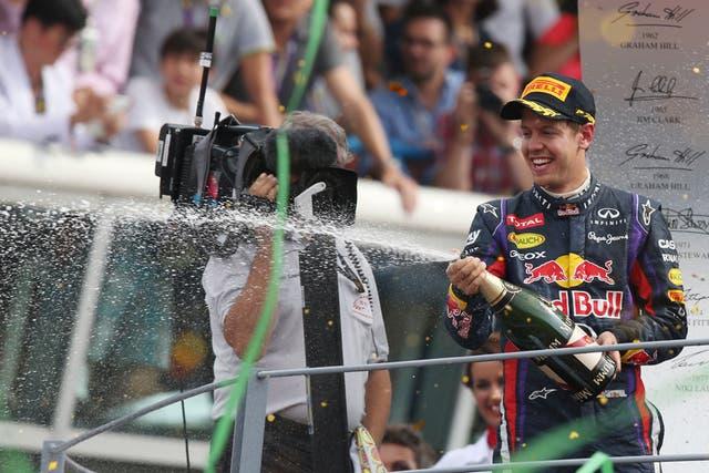 Vettel ganó el Gran Premio de Fórmula 1 de Italia