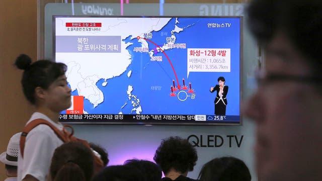 Japón despliega antimisiles ante amenazas de Corea