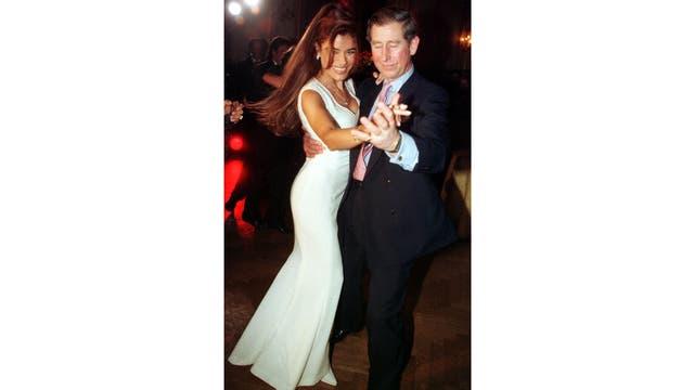 En marzo de 1999 visitó Argentina y bailó con Zulemita Menem durante una cene homenaje