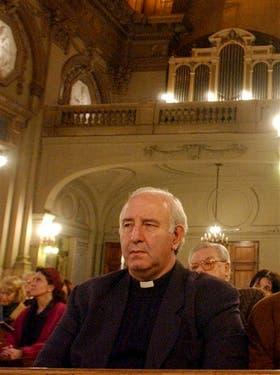 Accaputo estuvo en la comitiva oficial que viajó a Roma