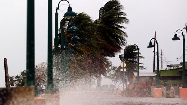 El huracán María llegó a Puerto Rico y causó estragos. Foto: AFP