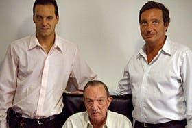 Diego, Eduardo y Marcelo Toscano