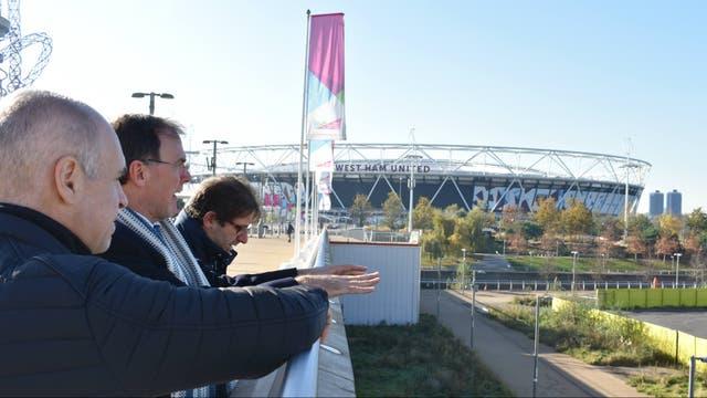 Recorrida por el Parque Olímpico, que en 2012 albergó a unos 16.000 atletas