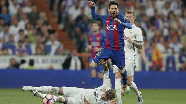 Messi festeja mesurado en redes tras presumir playera al Bernabéu