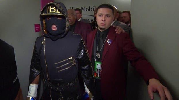 El gran combate en Las Vegas. Foto: LA NACION / SHOWTIME Boxing