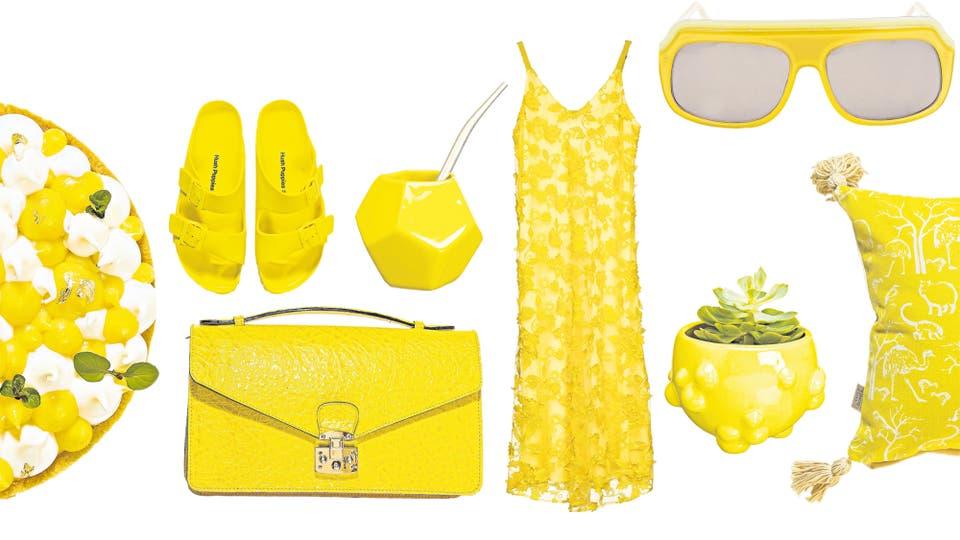 Amarillo trendy