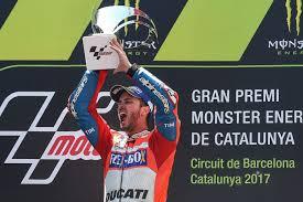 Resultado de imagen para Andrea Dovizioso Cataluña 2017