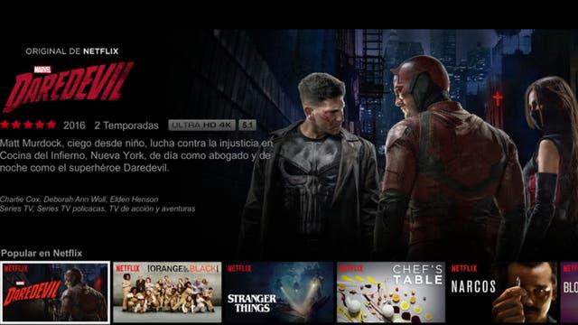 Daredevil, una de las producciones de Netflix sobre el universo Marvel