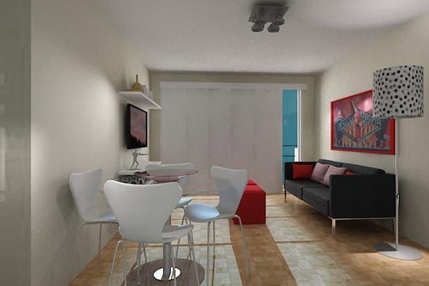 Solución 190: cómo aprovechar un living de 15m2   living   espacio ...