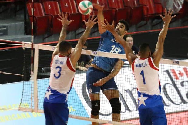 Martín Ramos en acción en la última Copa Panamericana