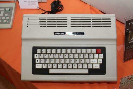 Una Radioshack TRS-80 color. Foto: Gentileza Museo de Informática