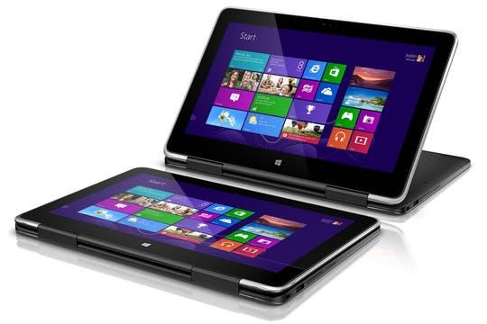 Dell XPS 11, con una pantalla táctil de 11,6 pulgadas (2560 x 1440 pixeles); corre Windows 8 sobre un chip Intel Core i5 de cuarta generación; 15 mm de grosor y un kg de peso.