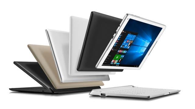 El teclado de la tableta de Alcatel suma una batería adicional y una antena 4G