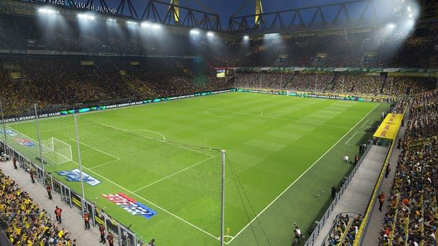 Las vistas de los estadios son impresionantes