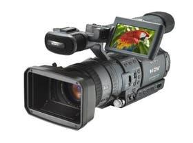 La cámara de video de HDTV Sony HDR-FX1 Handycam