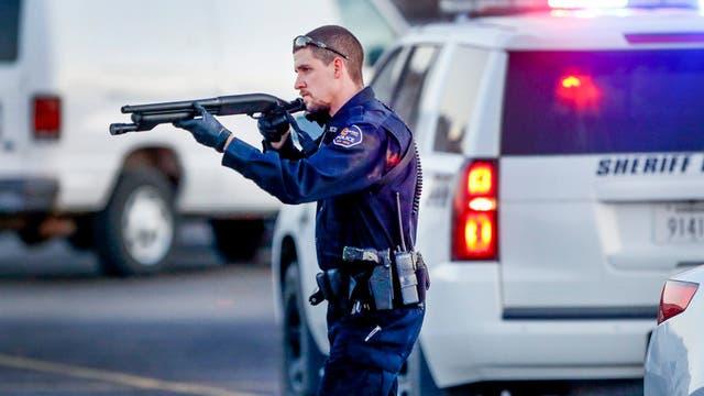 La policía abatió al tirador