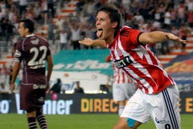 Carrillo, el goleador del Pincha