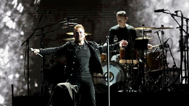 U2 en la Argentina