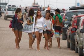 Jóvenes en Pinamar