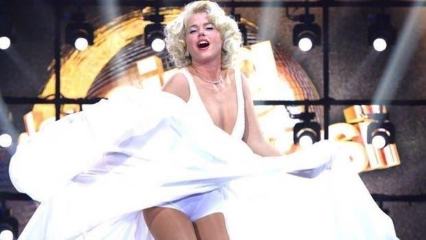 Mirá quién revivió en Brasil a Marilyn Monroe