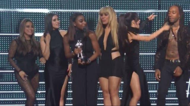 Las chicas de Fifth Harmony, premiadas